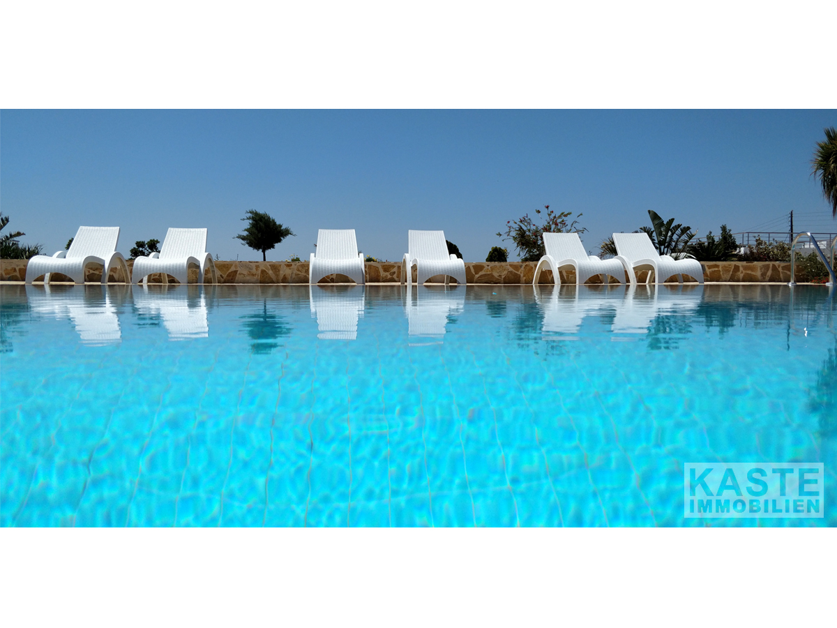 Immobilien kreta pool panorama