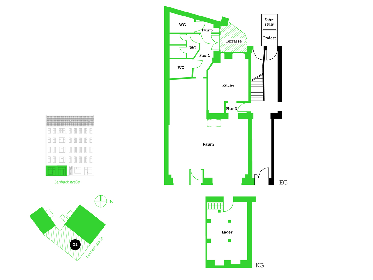 Floor plan unit 2 | Lenbachstraße