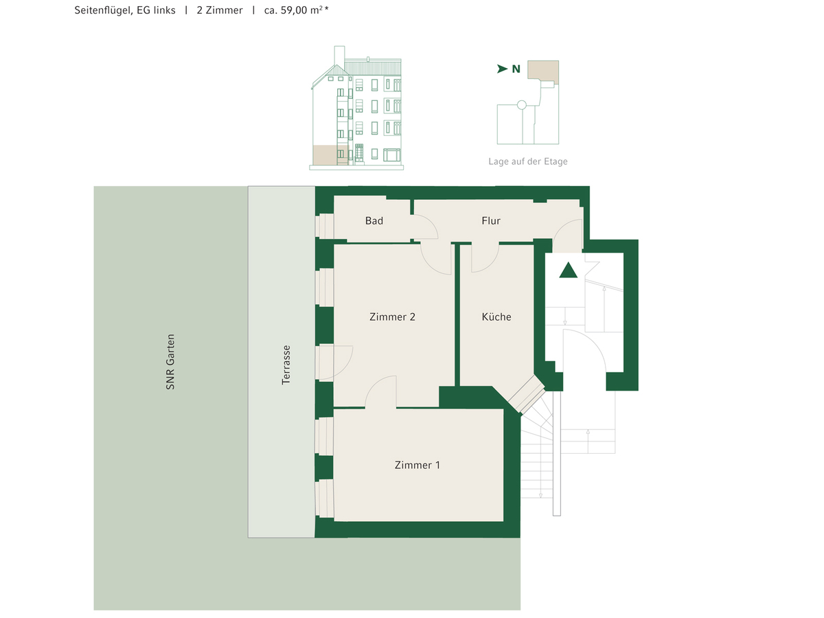 Floorplan Unit 09 | Johannisberger Straße