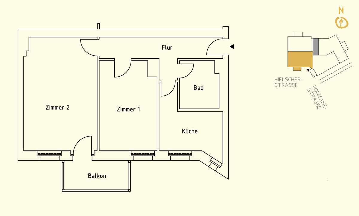 Floor plan unit 09 | Hielscher Straße