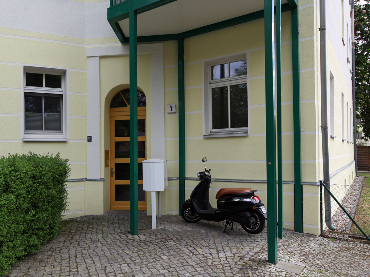 House entrance | Hielscher Straße