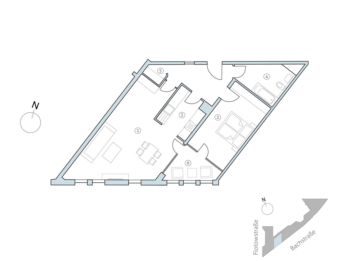 Floor plan unit 22 | Flotowstraße