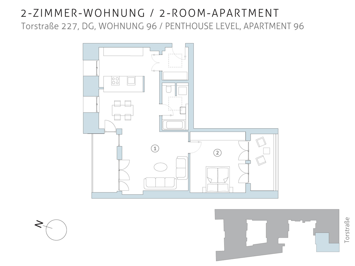 Floor plan unit 96 | Torstraße