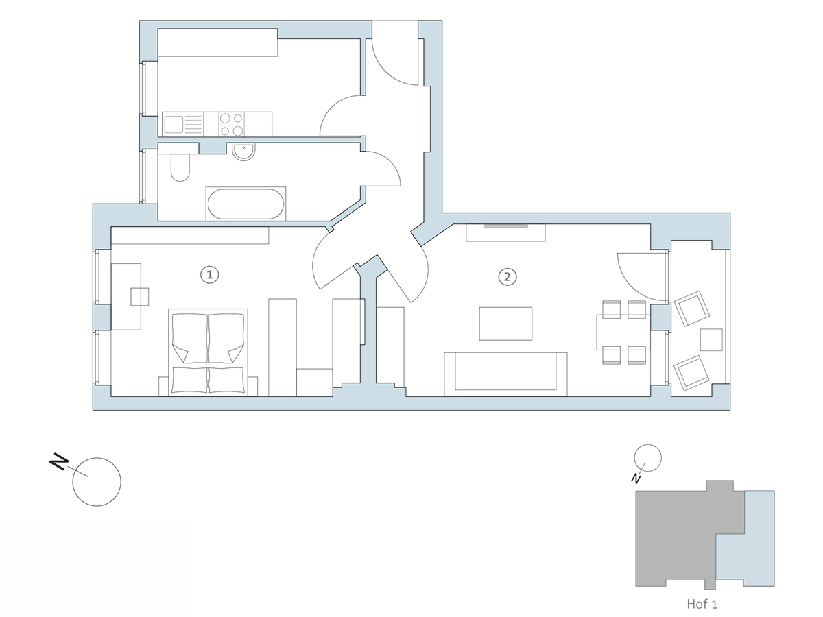 Floor plan no 21 | Binzstraße