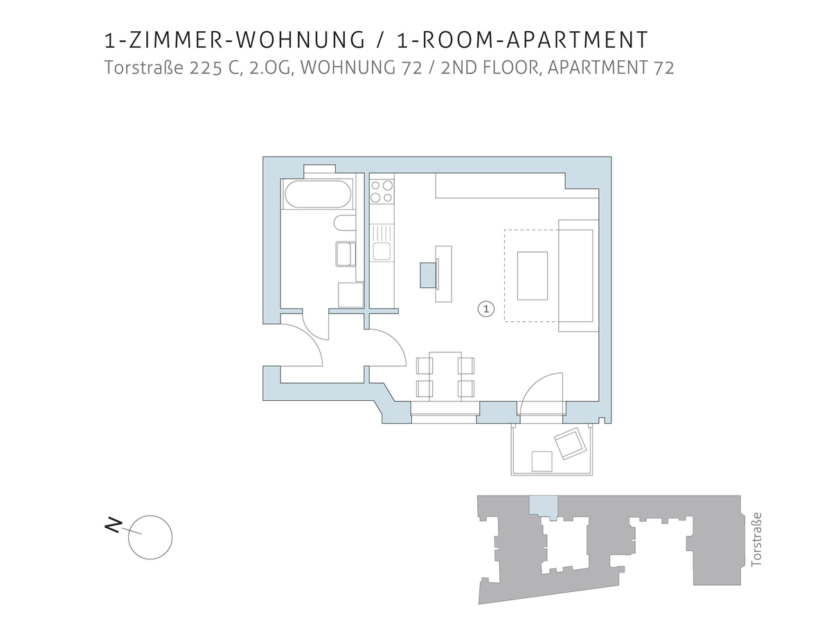 Floor plan unit 72 | Torstraße