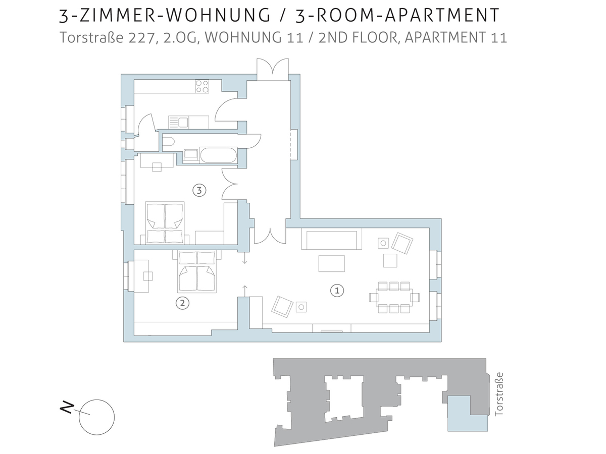 Floor plan unit 11 | Torstraße