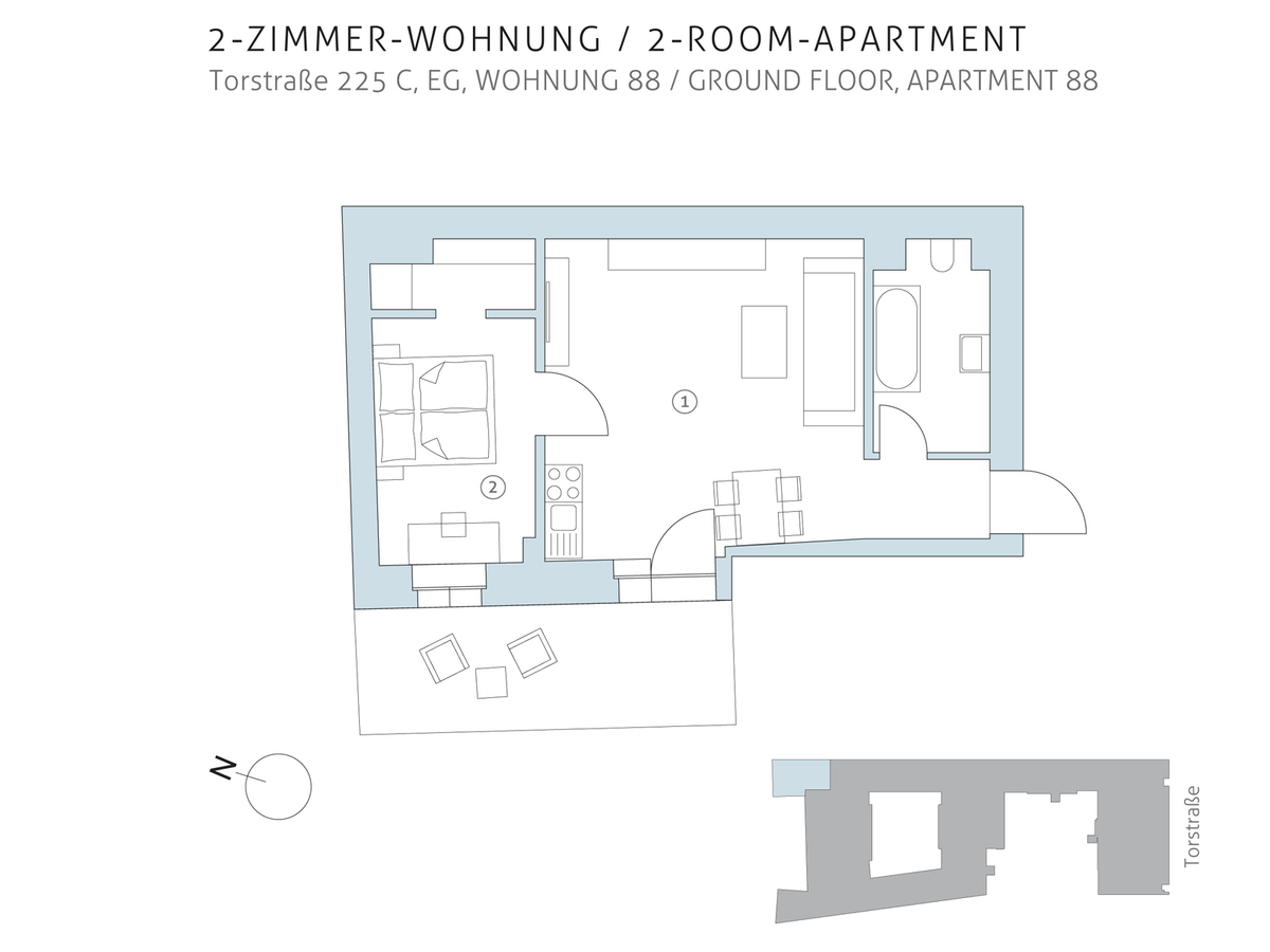 Floor plan unit 88 | Torstraße