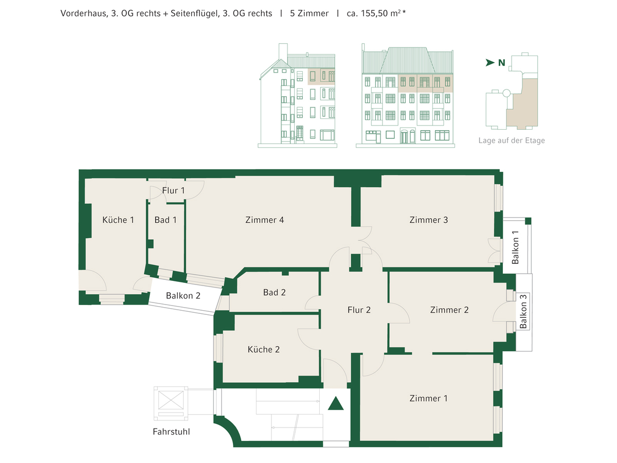 Floorplan Unit 07+13 | Johannisberger Straße