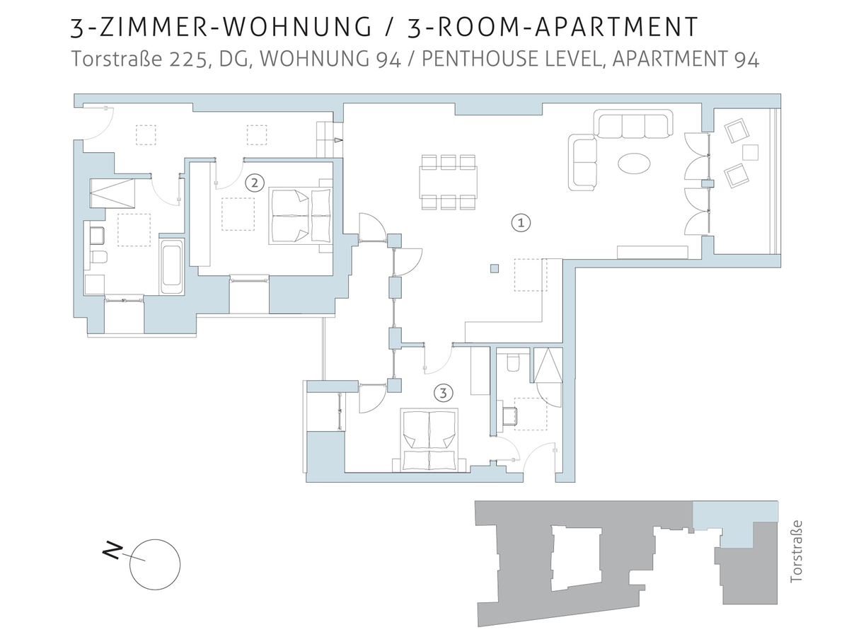 Floor plan unit 94 | Torstraße